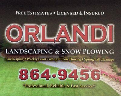 Orlandi landscape and snow plowing Tonawanda, NY Thumbtack