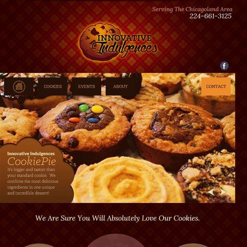 Custom website design, development and logo, eCommerce