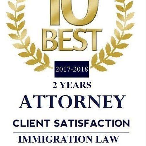 US Instit 10 Best Attorney Immigratn
