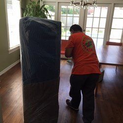 We Shrink wrap and pad all of your furniture