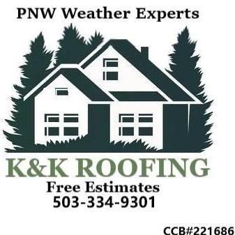 K&K Roofing.