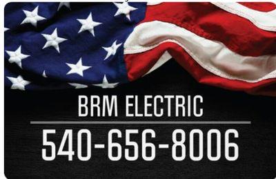 Avatar for BRM Electric LLC Fredericksburg, VA Thumbtack