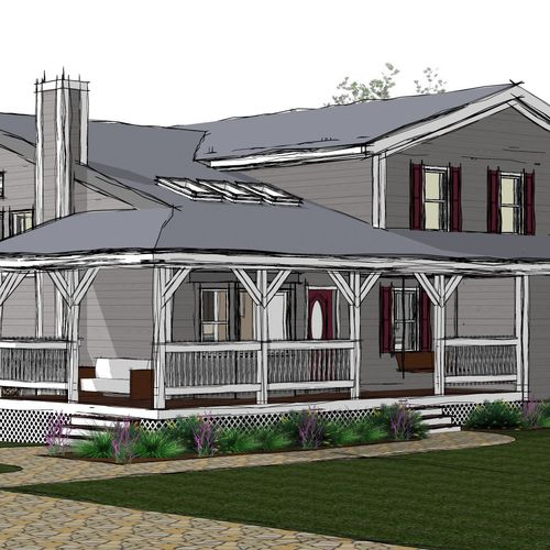 New Construction Single Family 2600 sf Residence in East Freetown, MA.