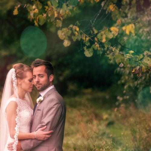 Summer atmosphere--gorgeous late-summer wedding at Woodwalk Gallery in Egg Harbor, Wisconsin.