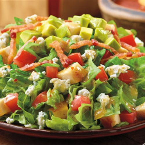We provide full catering with salad options as well.