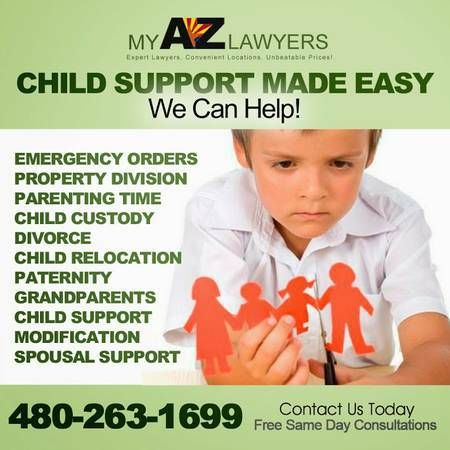 We do all aspects of Family Law.