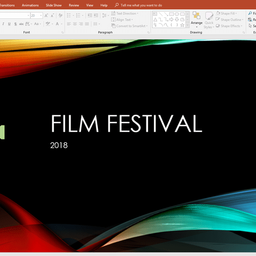 Microsoft PowerPoint Project