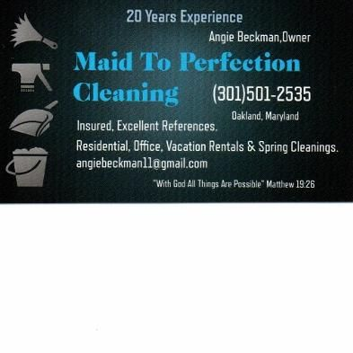 Avatar for Maid to Perfection Cleaning