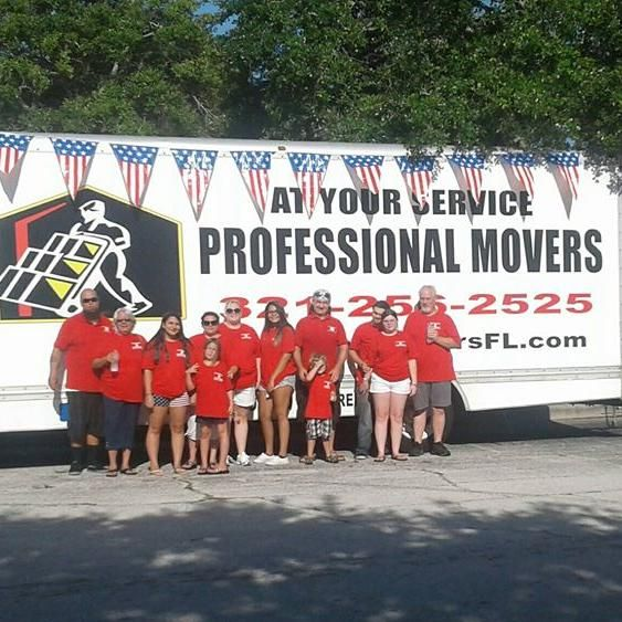 At Your Service Professional Movers Inc.