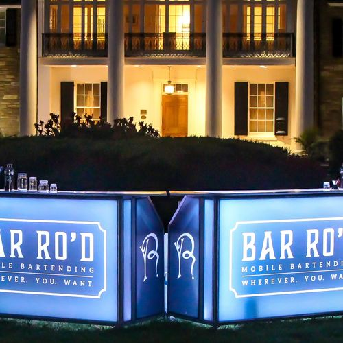 BAR RO'D is a turnkey mobile bartending and staffing solution that delivers meticulous service and staffing for any event virtually anywhere.
