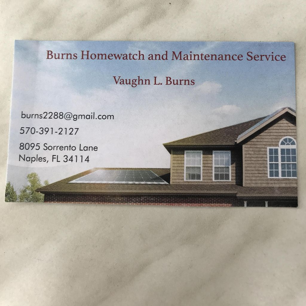 Burns Home Watch and Maintenance Service