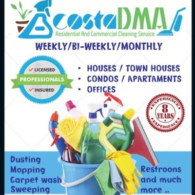 Avatar for Acosta DMA 2 LLC Cleaning and Maintenance Service