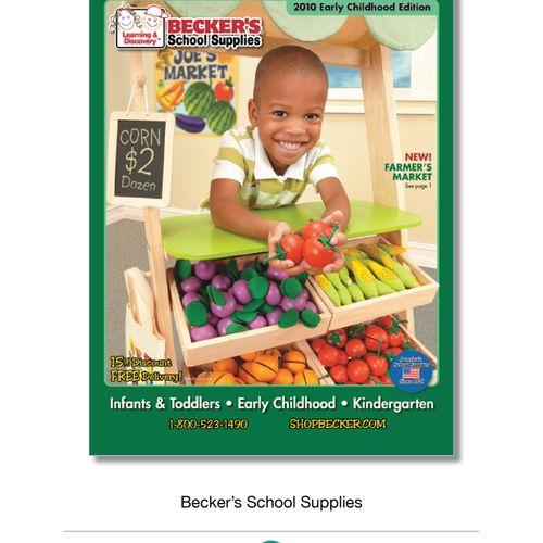 Becker's School Supplies Catalog