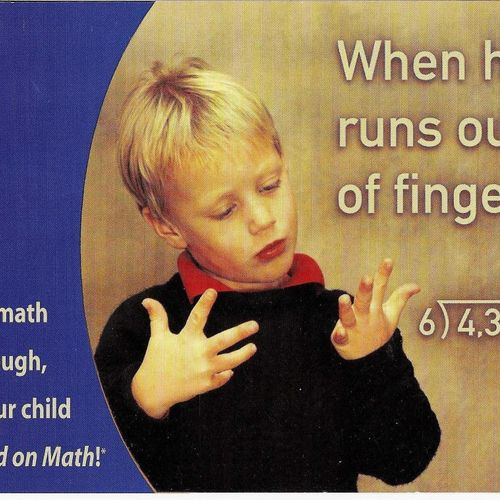 HUGELY profitable postcard in nightmare marketing category -- MATH!