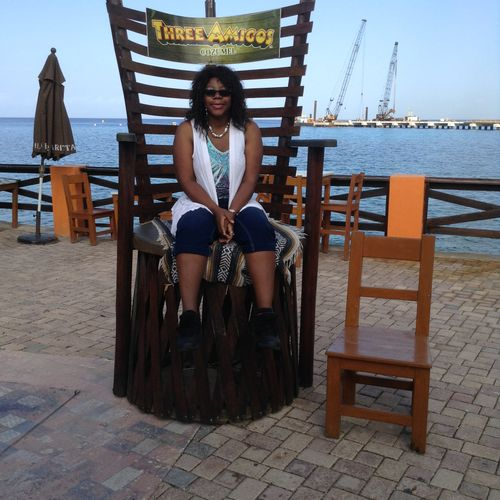 Port of call Cozumel-My chair