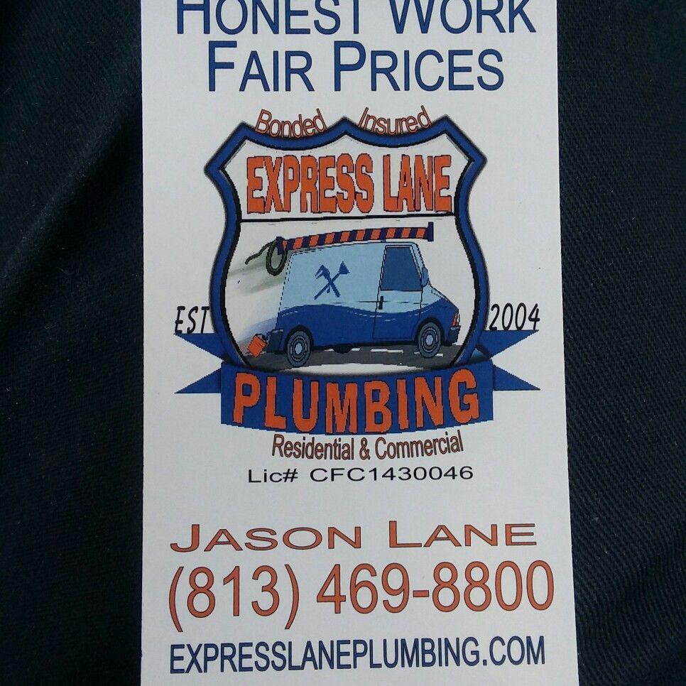 Express lane plumbing