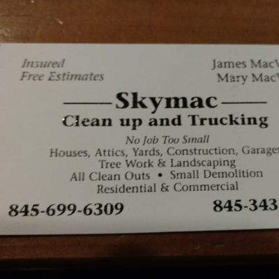 Avatar for SkyMac Cleanup and trucking