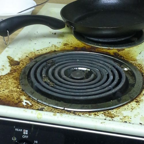 stove  BEFORE