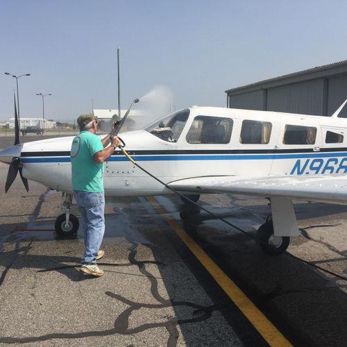We Clean Airplanes!