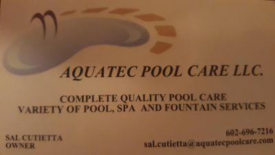 Avatar for Aquatec Pool Care LLC Phoenix, AZ Thumbtack