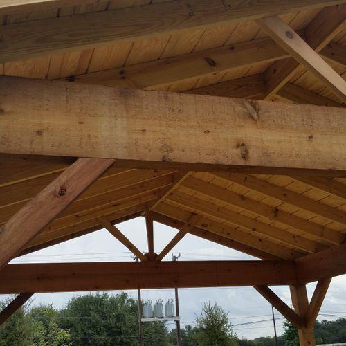 some photos  of our custom built outdoor living