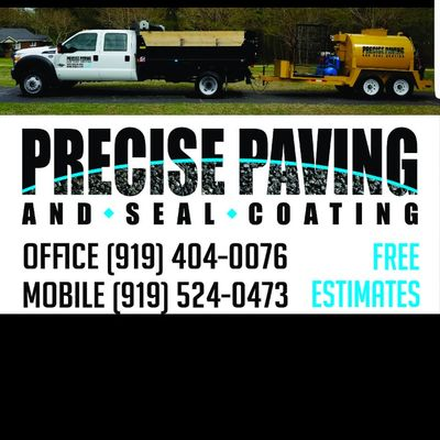 Avatar for Precise Paving and Sealcoating Raleigh, NC Thumbtack