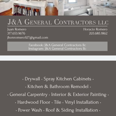 Avatar for J&A General Contractors Llc Indianapolis, IN Thumbtack