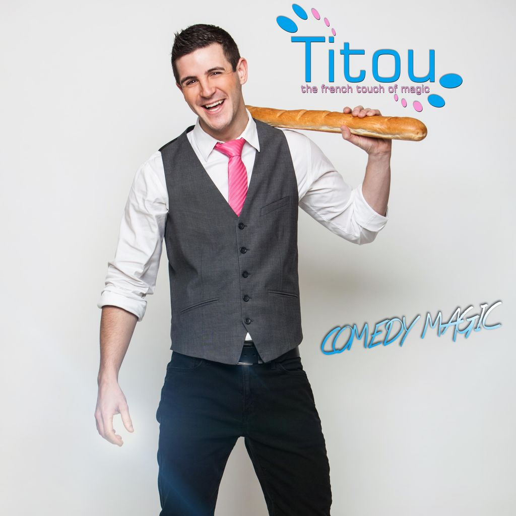 TITOU, Comedy Magician and illusionist made in ...