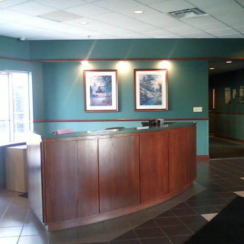 Clean and Shiny Office Lobby