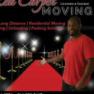 Avatar for Red Carpet Moving Co... Dallas, TX Thumbtack