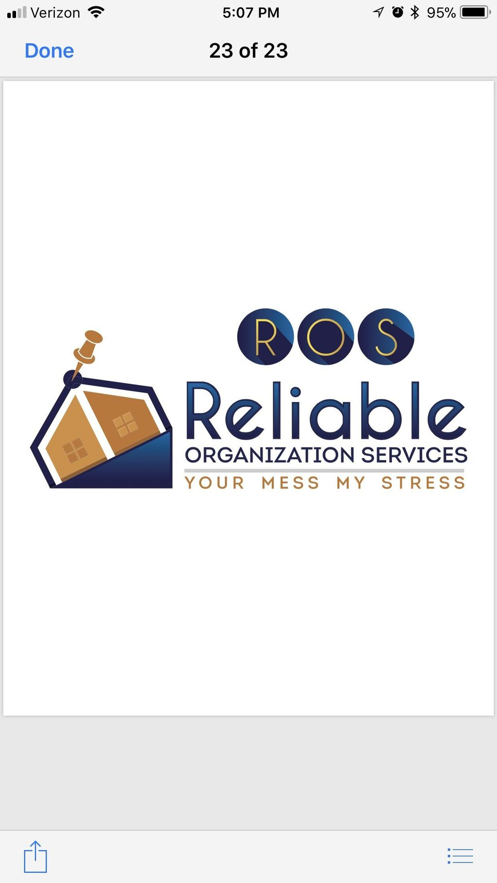 Reliable Organization Services