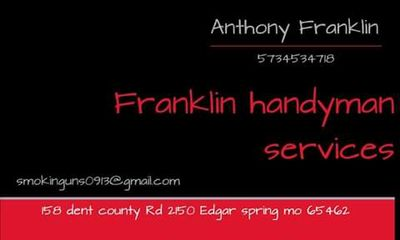 Avatar for Franklin Handyman services Rolla, MO Thumbtack