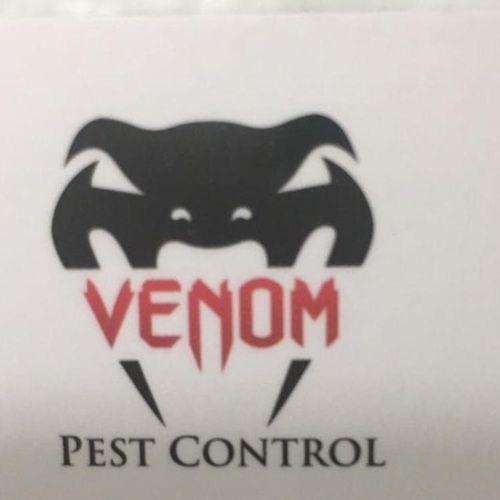 Venom Pest Control Logo.