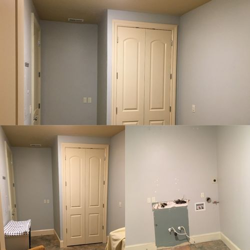 Before & After - Closet Addition