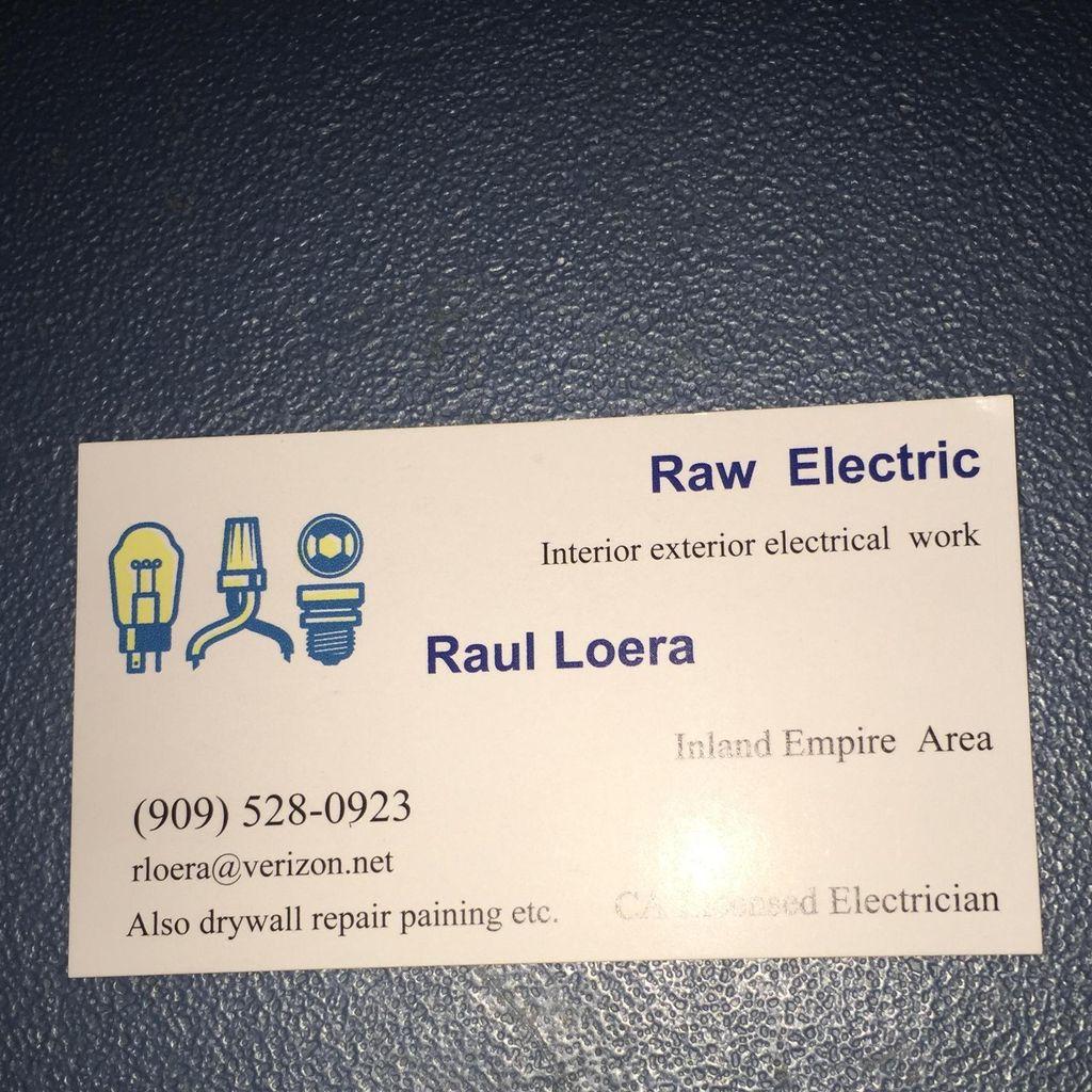 Raw electric