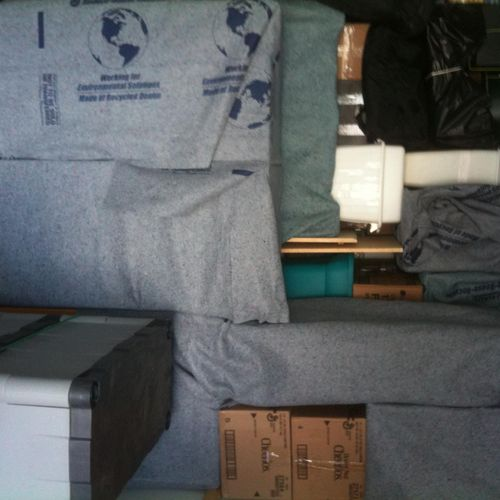 We make sure to pad every piece to ensure that your belongings are fully protected during transit!