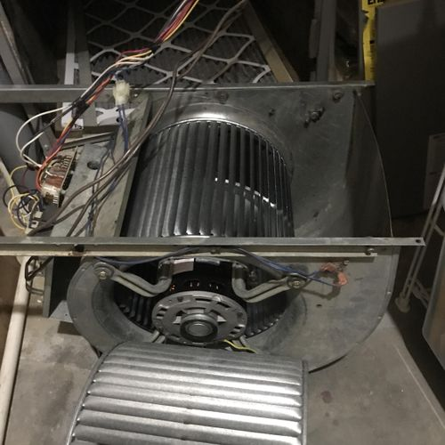 Blower Wheel Replacement