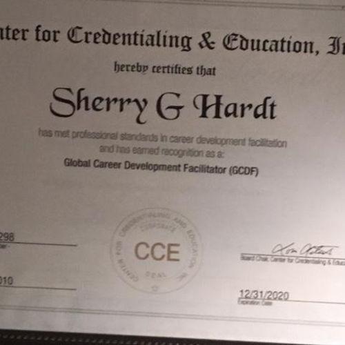 Global Career Development Certification