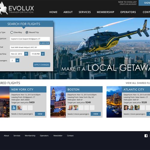 Evolux: Product Design, UX Design, Web Design