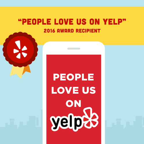 Over 28 recent five-star reviews on Yelp!!