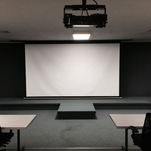 Library Home Theater Installation