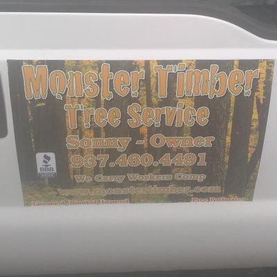 Avatar for Monster timber tree service Springfield, OH Thumbtack