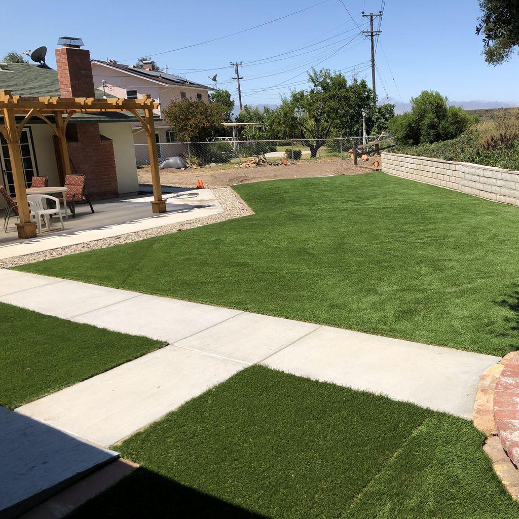 California Landscape Green