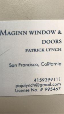 Avatar for Maginn windows and doors