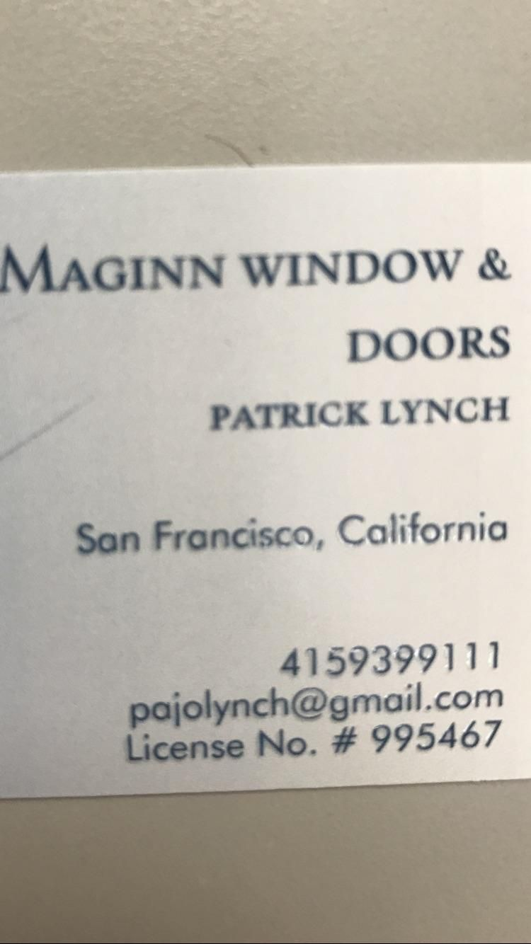 Maginn windows and doors