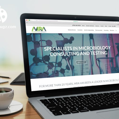 Logo and Branding Design and Responsive Website Design for Biotech Company in Ayer MA