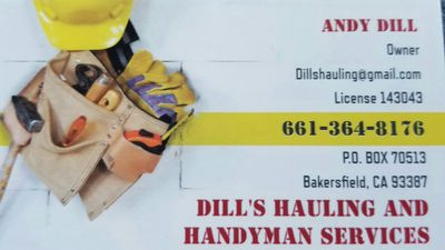 Avatar for DILL'S HAULING AND HANDYMAN SERVICES Bakersfield, CA Thumbtack
