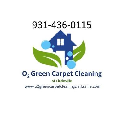 O2 Green Carpet Cleaning of Clarksville