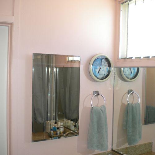 Before - Bathroom remodel (Newport Beach, CA).