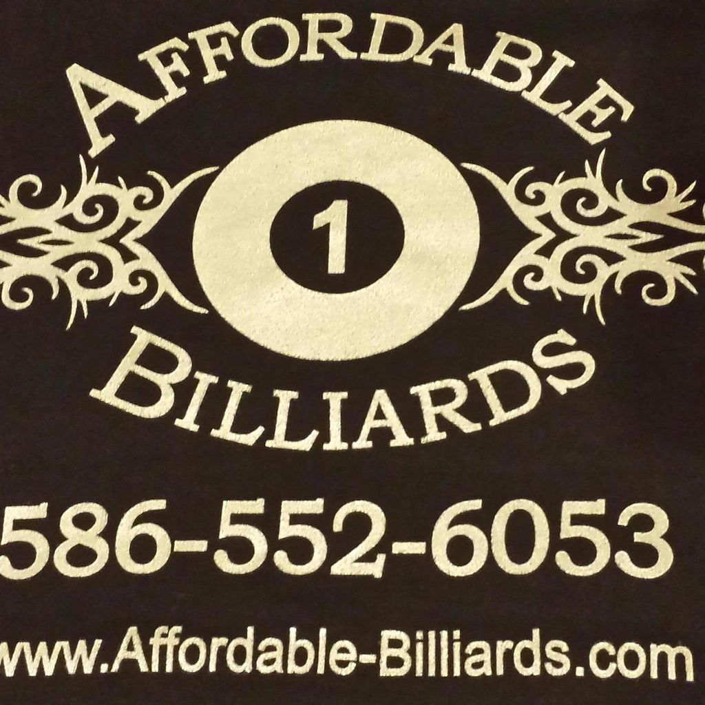 Affordable Billiards
